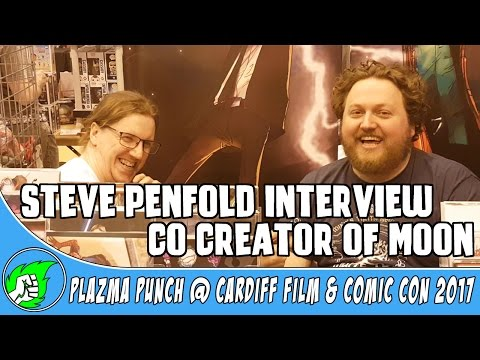 Co Creator of Moon - Steve Penfold Interview @ Comic Con Cardiff 2017