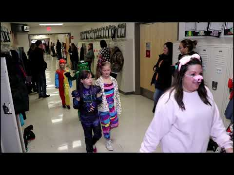 Happy Halloween North Bend elementary school,Iowa
