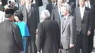 20050311 ビデオで見る総理 マレーシア国王表敬