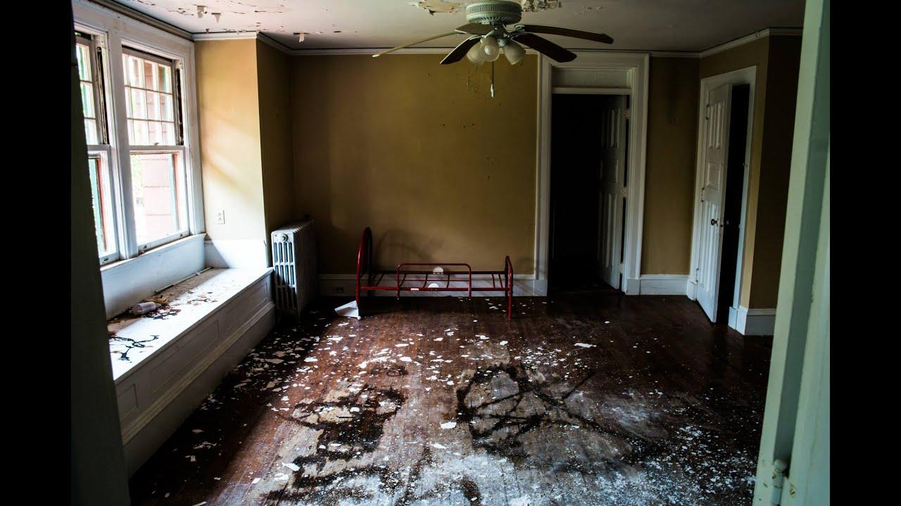 Abandoned Mansion Found Creepy Attic Part 1 Youtube