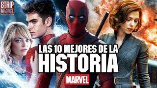 ¡Las 10 mejores películas de Marvel hasta la fecha!