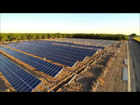 Renewable Solar 1 MegaWatt Install Part 1