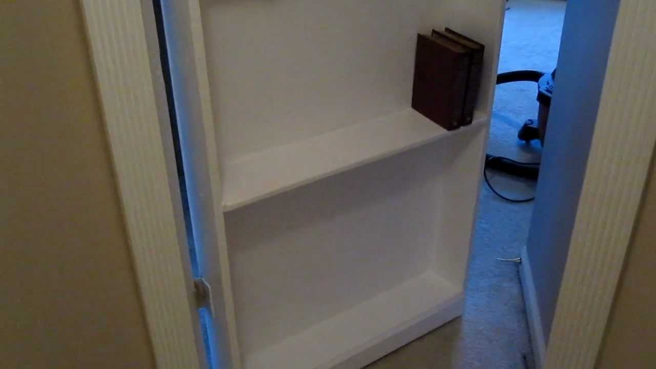 Etonnant Secret Bookcase Door