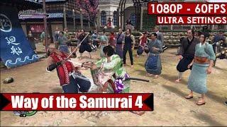 Way of the Samurai 4 gameplay PC HD [1080p/60fps]