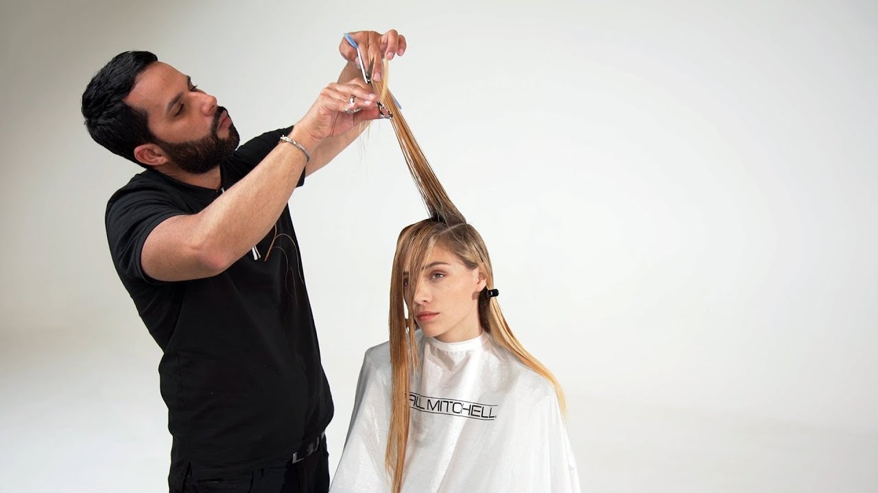 How To An Edgy Layered Haircut With Beautiful Bouncy Movement 20 20 Collection Youtube