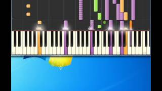 Dana International   Diva [Piano tutorial by Synthesia]