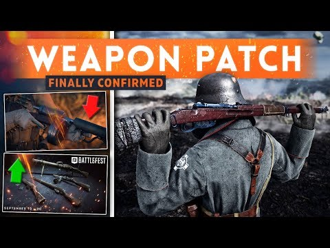 ➤ NEW WEAPON BALANCE PATCH COMING IN JANUARY UPDATE! - Battlefield 1 Turning Tides DLC (Part 2)