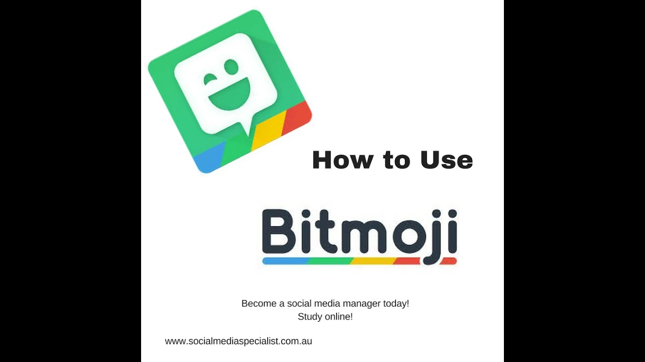 How to use bitmoji