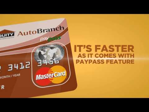 EQUITY BANK AUTO BRANCH MASTER CARD