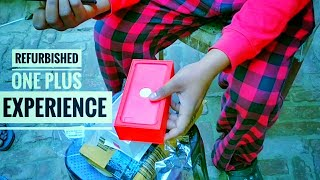 Refurbished One Plus From Amazon | Balu Raj Pandit Unboxing |