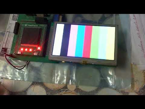 LCD NIOS II Core IP