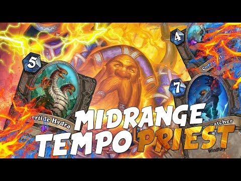 Midrange Tempo Priest | Un deck con il 100% di WinRate!!!