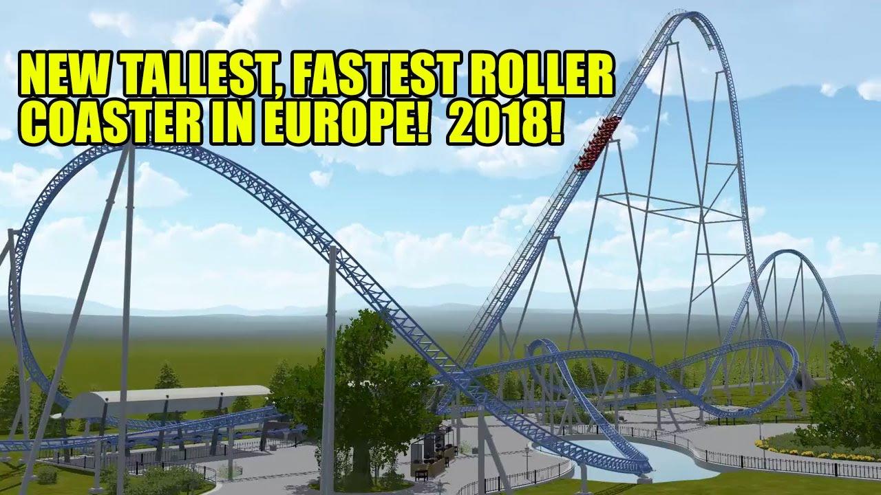 Tallest roller coasters (Europe) - Coasterpedia
