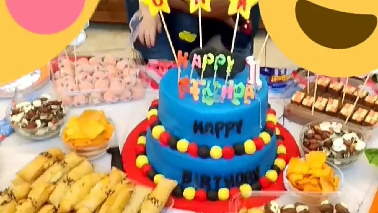 عيد ميلاد أجمل طفل سوري عمر سنة Baby S Birthday Is A Year Old Youtube