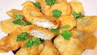 Супер рецепт пивного кляря  Рыбка жаренная в кларе