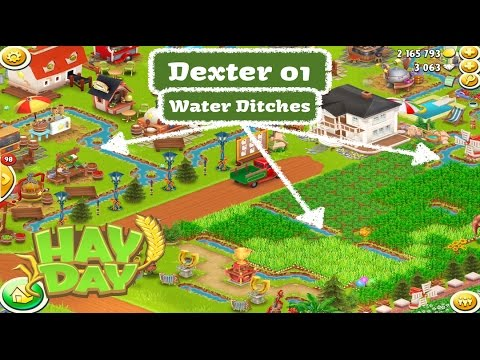 Hay Day Farm Review - Dexter 01 - The Water Ditches
