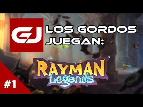 Rayman Legends: Los Gordos Juegan - Parte 1 | 3 Gordos Bastardos