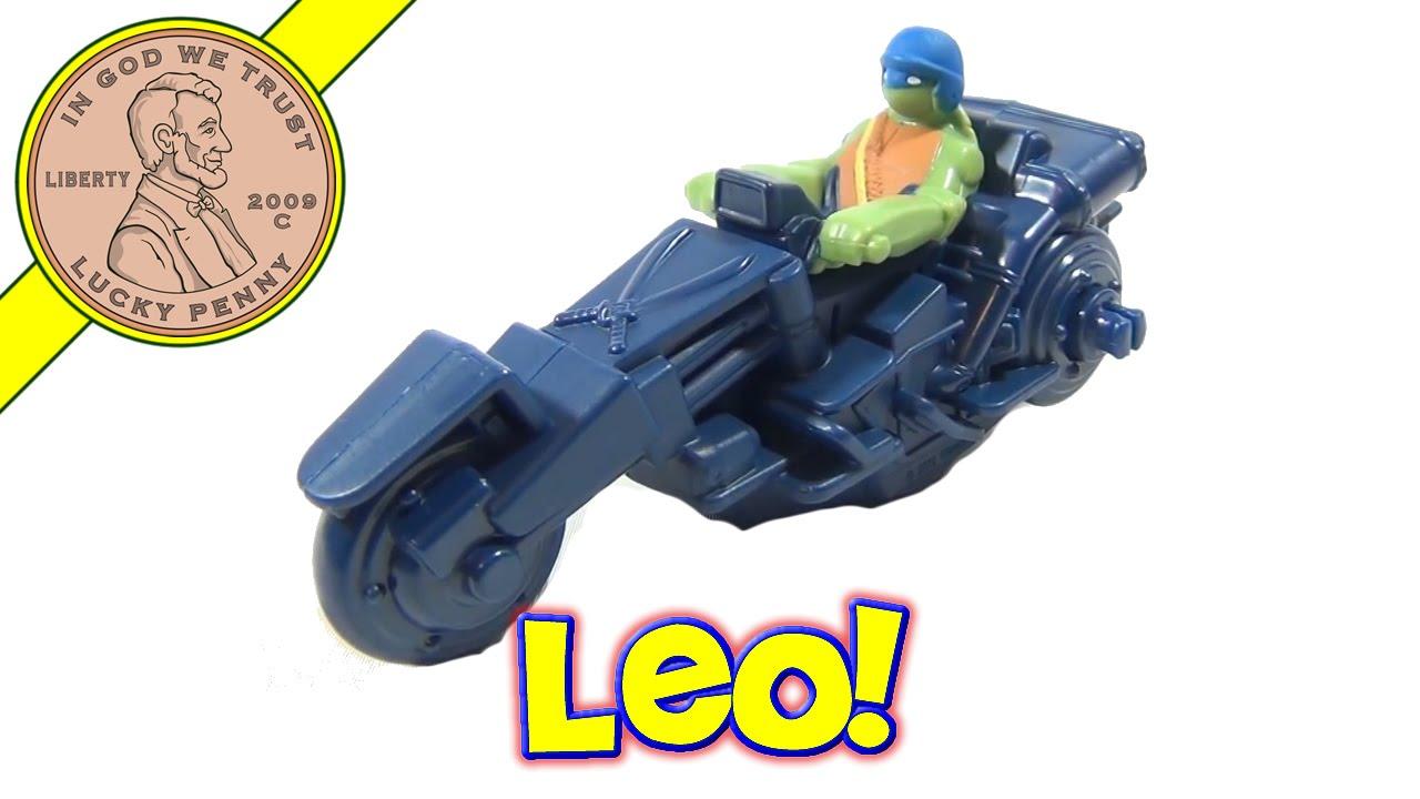 8 Leonardo Cycle Mcdonald S 2012 Tmnt Happy Meal Toy Teenage