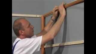 Монтаж панелей ПВХ(Пластиковые панели ПВХ применяются для отделки стен и потолков в любых помещениях. Это современный, эколог..., 2013-02-12T15:50:14.000Z)