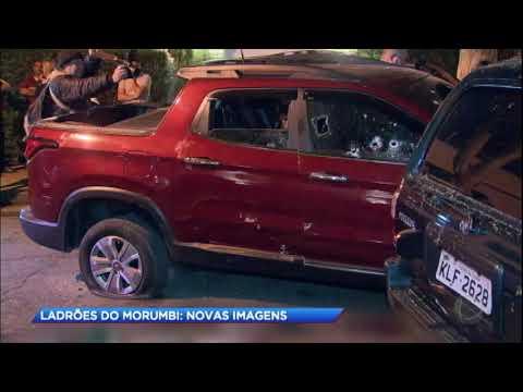 Imagens exclusivas mostram ação dos ladrões de casa de luxo do Morumbi