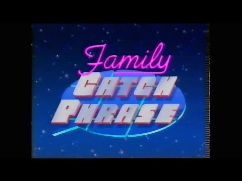 Family Catchphrase 43 Family Channel 1994
