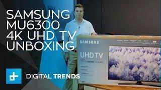 Samsung MU6300 4K UHD TV - Unboxing