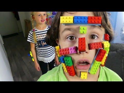 Des LEGOS nous poussent sur le Tête - Build Bonanza