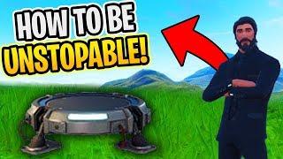 Fortnite HOW To be UNSTOPPABLE (Fortnite Battle Royale)