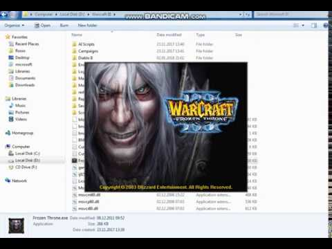 How To Install Warcraft 3 Frozen Throne MAP