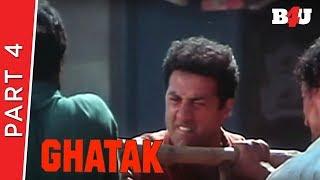 Ghatak | Part 4 | Sunny Deol, Meenakshi Seshadri, Danny Denzongpa | B4U Mini Theatre