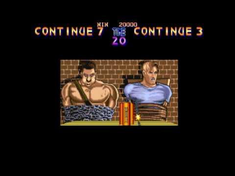 Final Fight Continue Screen (2-player, Haggar/Cody)