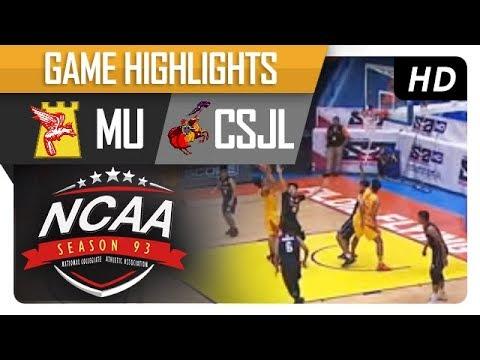 MU vs. CSJL | NCAA 93 | MB Game Highlights | September 22, 2017