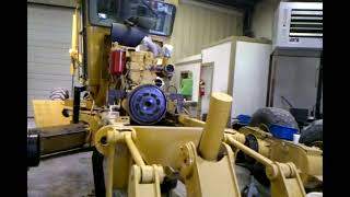 Cat 140H motor grader rebuild -heavy equipment-