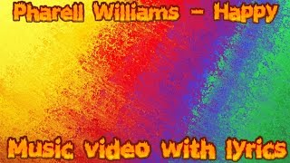 Pharrell willams- happy Lyric video Mp3