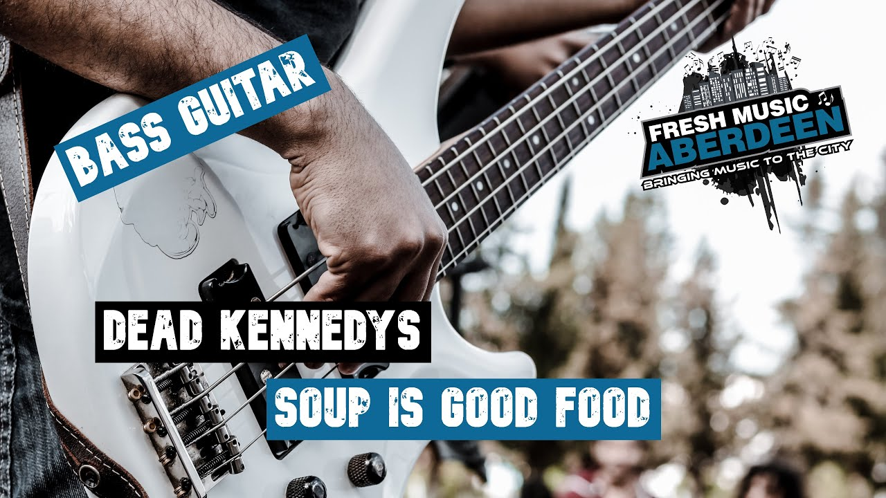 Dead Kennedys - Soup is A Good Food || Bass Guitar Play Along TAB