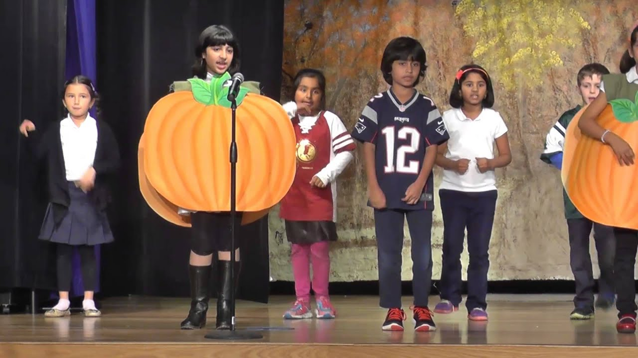 The Nysmith School: 2nd Grade - Thanksgiving Play - YouTube