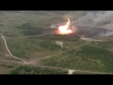 Gas Pipeline Explosion - North Texas 06-07-2010
