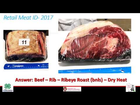 4 H Meats Judging Contest Wisconsin Youth Livestock Program