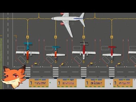 AIRPORT CEO [FR] Un jeu de construction/gestion d'aéroport qui a de bonnes idées !