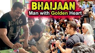 Salman Khan At Umang School In Jaipur | Interacts With Childern with Special Needs | Being Human