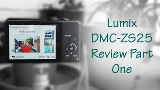 видео Представлена фотокамера Panasonic Lumix DMC-ZS35