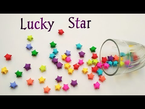 How To Make Lucky Paper Star | Origami lucky Stars Tutorial | DIY Lucky Star For Christmas