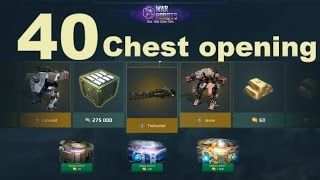War Robots - Anniversary Event 40 Chest Opening