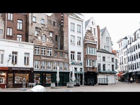 A Winter's Day in Antwerp | Belgium