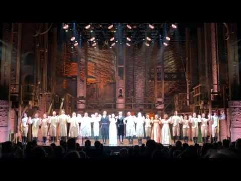 Hamilton #AndPeggyTour San Francisco Opening Night curtain call
