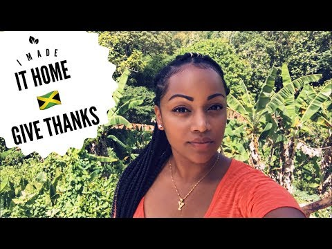 Travelling back home to Jamaica, Jamaican Vlogger (JA Vlog1)