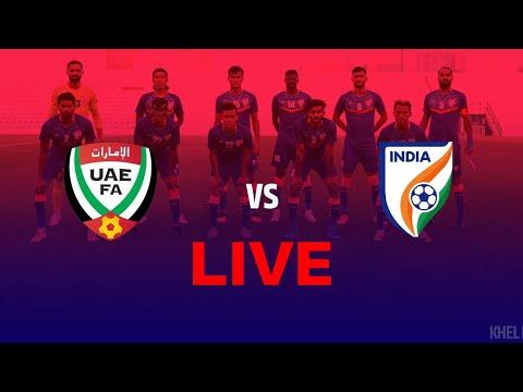 UAE Vs India Live Streaming | FIFA International Friendly