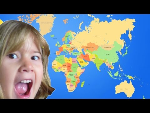 Learning World Geography from YOU Guys!