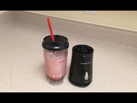 Smoothies With A Hamilton Beach Single Serve Blender