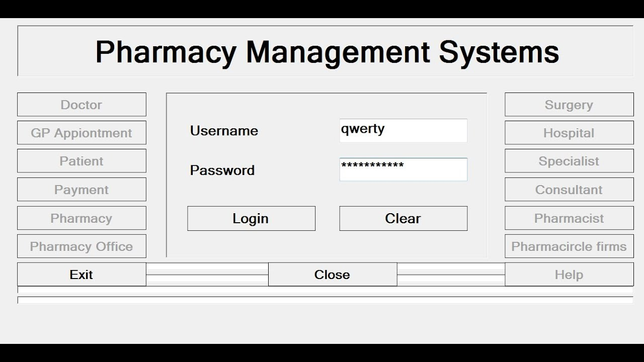 How To Create Pharmacy Management System In C Tutorial